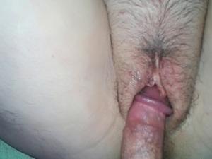 My Chubby Big Tits Hairy BBW Girl Fucked & Creampied