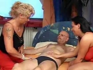 Nothing Like A Good Old Mature German Threesome