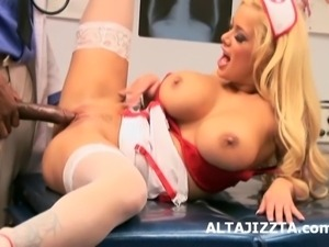 Aletta Ocean Behind The Scenes With Hot Nurses