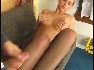 Best of Nylon cum shots