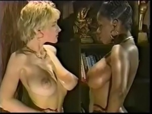 Ebony Ayes And Danni Ashe Wrestling
