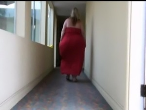 Pear Shaped BBW Blonde free