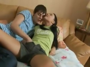 Young Amateur couple American Teen sex