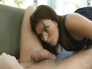 Sexy amateur enjoying oral sex and giving blowjob