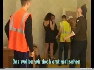 Cuckold Video mit falschem deutschen Untertitel