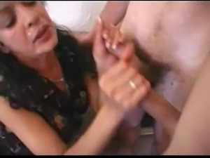 French mature maid satisfies 2 boys-Rayra