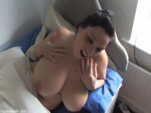 Big Titted Jerk Off Instruction