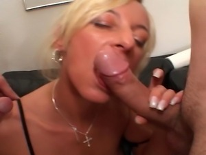 Watch these filthy girls go very nasty with a big number of horny guys as...