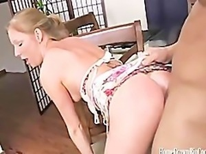 Blue Eyed Amateur Cuties First Big Dicking