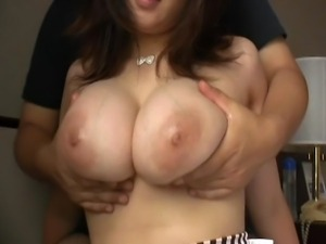 Three combined clips. Yuri Nonami has an enormous rack, one that she is...