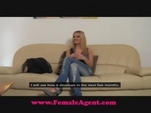 FemaleAgent Steamy casting free