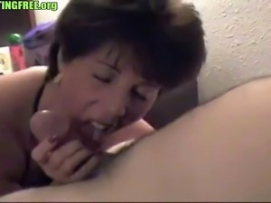 Brunette hookup amateur mature blowjob
