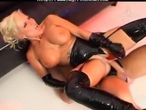 Sharon Da Vale Latex Fuck bdsm bondage slave femdom domination