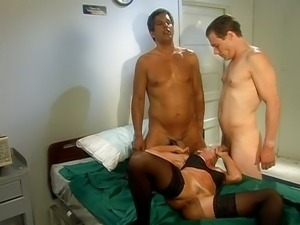 Shayla LaVeaux threesome both holes shagging