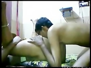 Desi Aunty Got Blowjob With Her Partner  indian desi indian cumshots arab