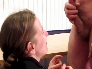 The flasher gets a blowjob and Kutasia a facial
