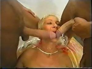 Mature Threesome Two guy and mature