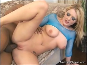 Hard Interracial Anal  Sophie