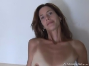 Gorgeous mature red head in sto ... free