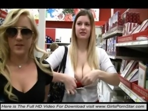 Two sexy blondes crazy free