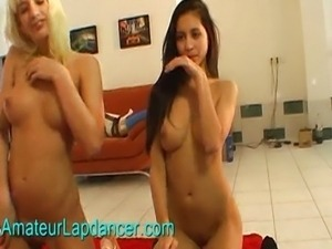 Extremely hot czech chick doing lapdance