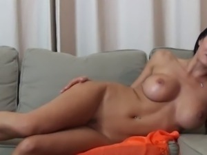 Wonderful Sofia Gucci Plays Anal Solo and Squirts