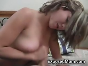 Mama enjoying a nice thick rod to play part2