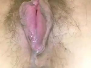 Hairy mature japanese squirts cum juice