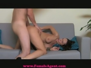 Guy exploited in milf's casting