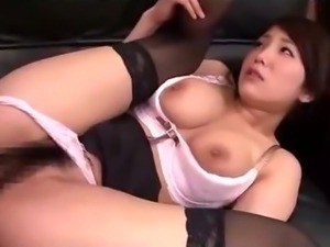 Busty Secretary Getting Her Hairy Pussy Fucked By Her Boss Facial In The Office