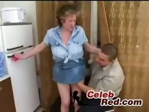 Young Guy Fucks Russian Granny  youn guy fuck russian granny