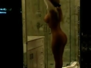 "Nicole ""Coco"" Austin in the Shower free"