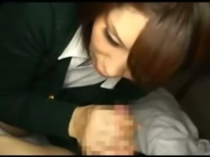 Japanese Mom Sneaks A Blowjob From A Younger Dude