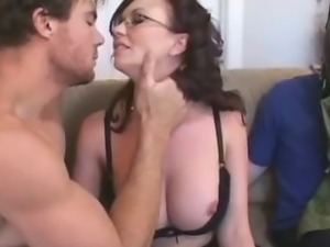 Hot Wife's Hubby Is A Piggy