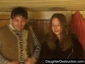 Daughter hard fucked free