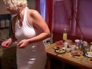 A  mom fucked by her son in the kitchen river free