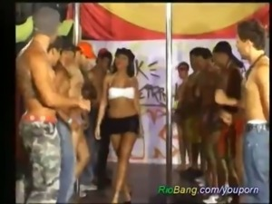 Crazy Brazilians GangBang free