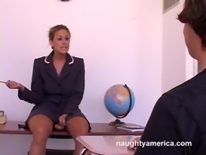 Teacher Kylie Worthy Hot For Student free