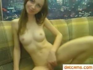 Hot Slut Fucks Herself Like Crazy Live Masturbation On Webcam cam at...