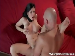Awesome bigtit slut Rebeca Linares