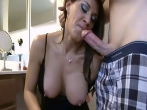 Leena Sky - Mom tied up and ass fucked