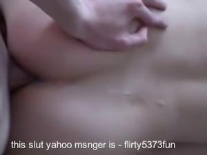 Unknows slut get fucked and creampied