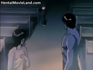 Naked detective couple fighting with the part4