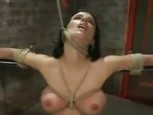 Bdsm:pornstar B.brooks Cums Hard...4twenty!!! bdsm bondage slave femdom...