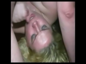 Blow job in a swingers club