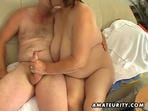 Chubby mature amateur wife sucks and fucks free