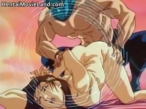Muscular masked RapeMan bangs sexy anime part5