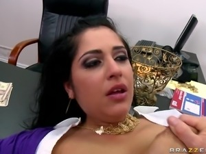 brunette slut big tits being hard fuck in the vagina