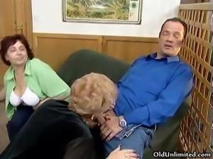 Dirty mature sluts go crazy sharing