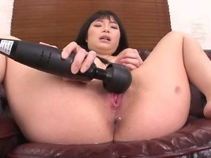 asian cutie squirts from her tight cunt